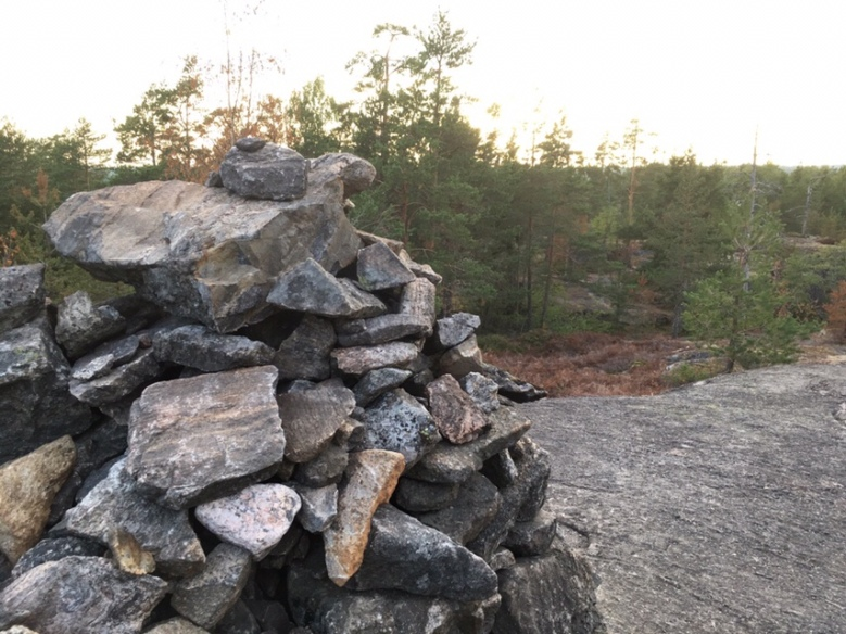 kalliolla