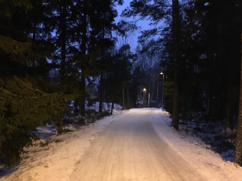 Kuva, jossa luminen polku.
