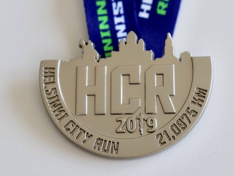 kuva, jossa hcr osallistujamitali 2019