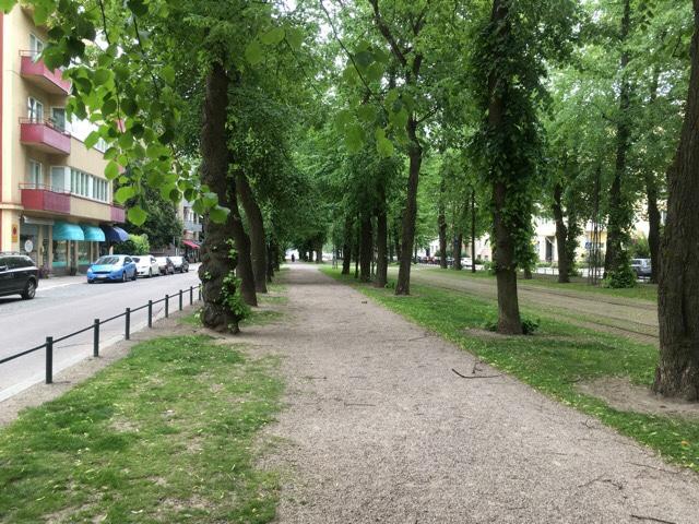 Kuva, jossa munkkiniemen puistotie.