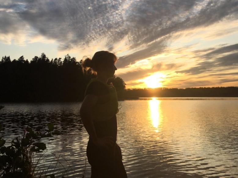 kuva, jossa auringonlasku