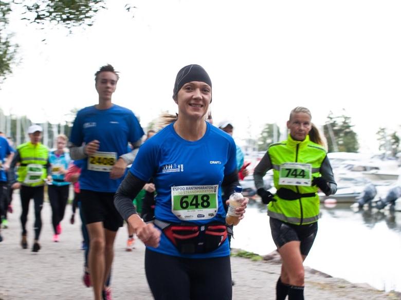 urheilujuoma maratonille