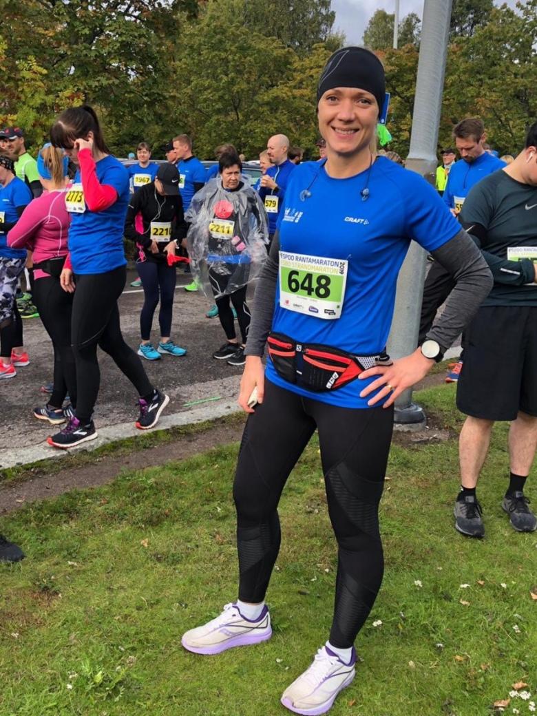 Maratonjuoksijan varusteet
