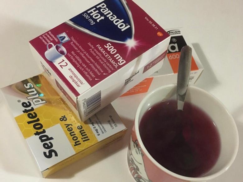 flunssa juoksi juoksija parantuminen