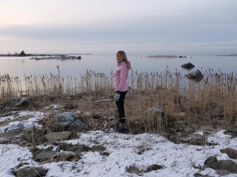 ruovikko talvella