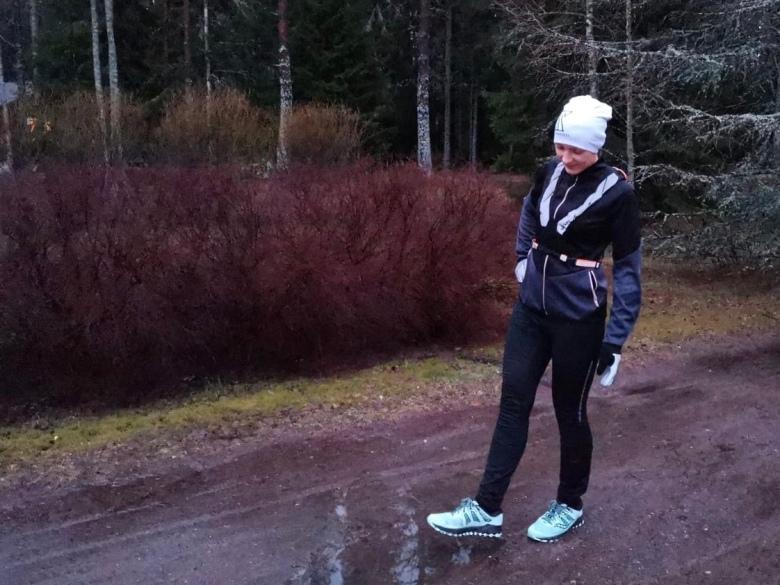 maratonharjoittelu sade myrsky