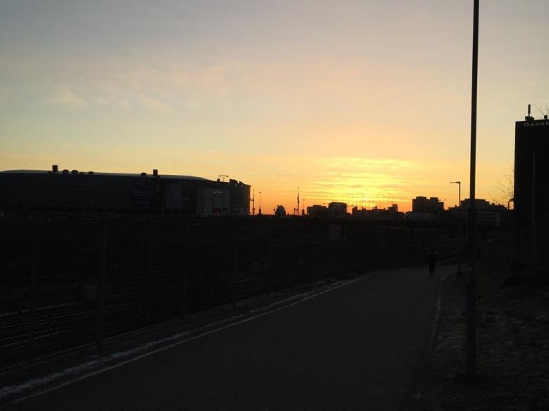 hartwall arena auringonnousu ilmala
