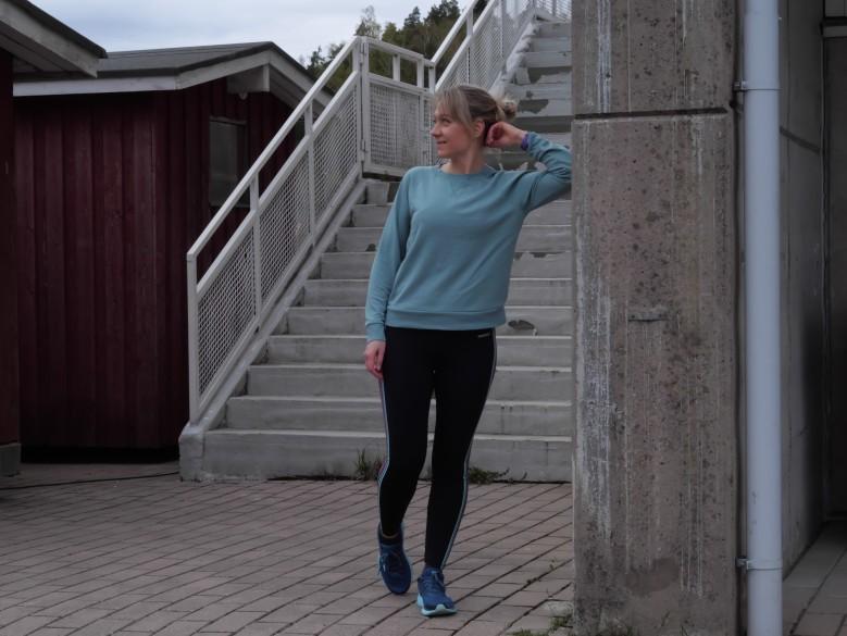 juoksu stadion portaat