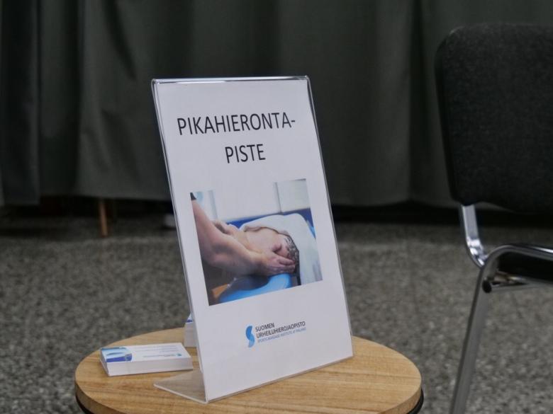 hieronta suomen urheiluhierojaopisto