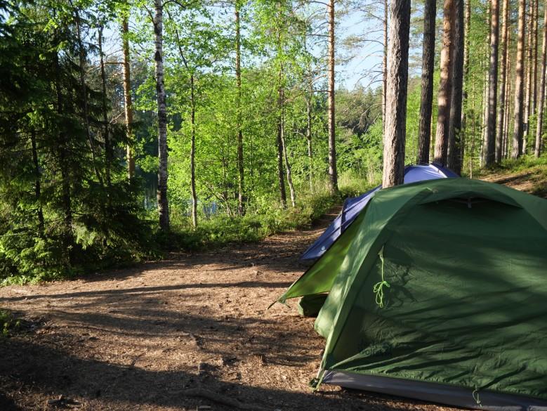 teltta retkeily