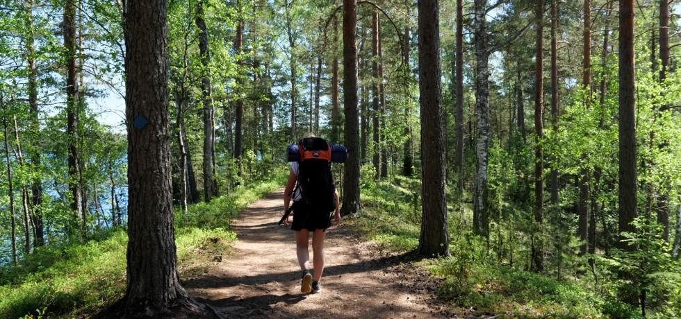 kotimaan matkailu telttailu