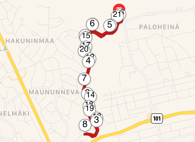 garmin connect map