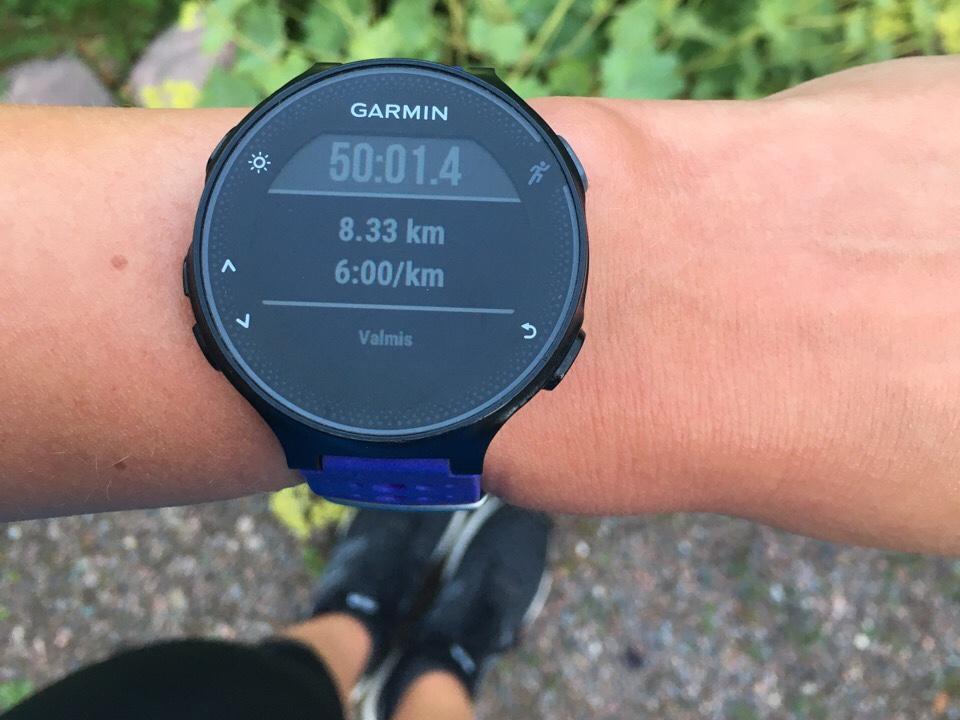 maratonharjoittelu nopeusvedot