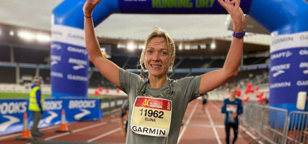 neljan tunnin alitus maratonilla
