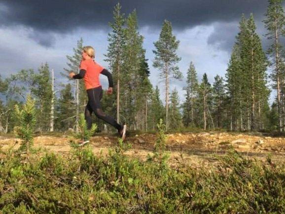 juokseminen lappi kesalla