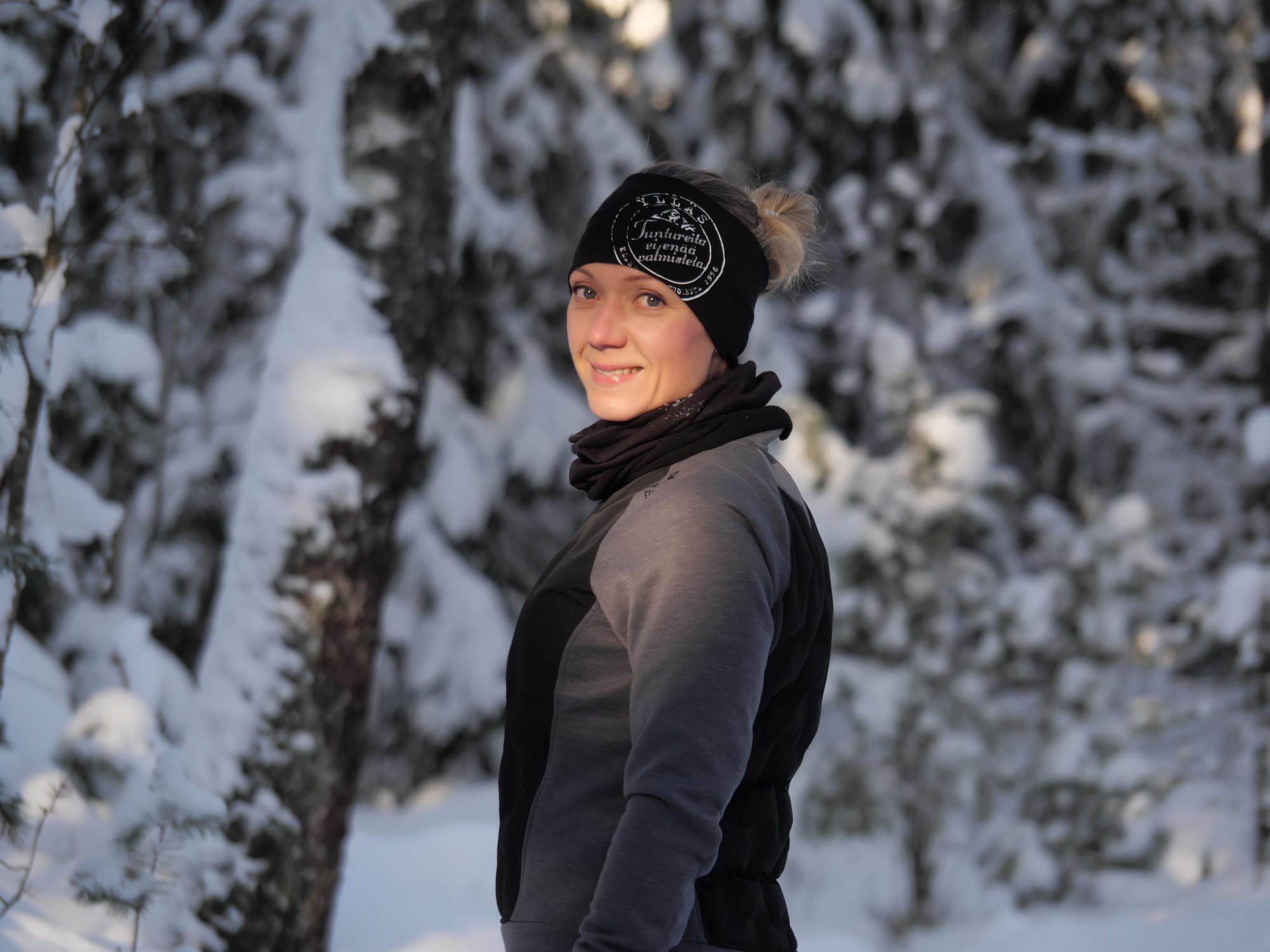 kuva, jossa luminen metsa