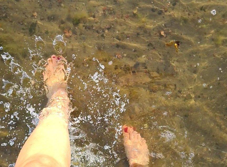 merivesi kesakuussa