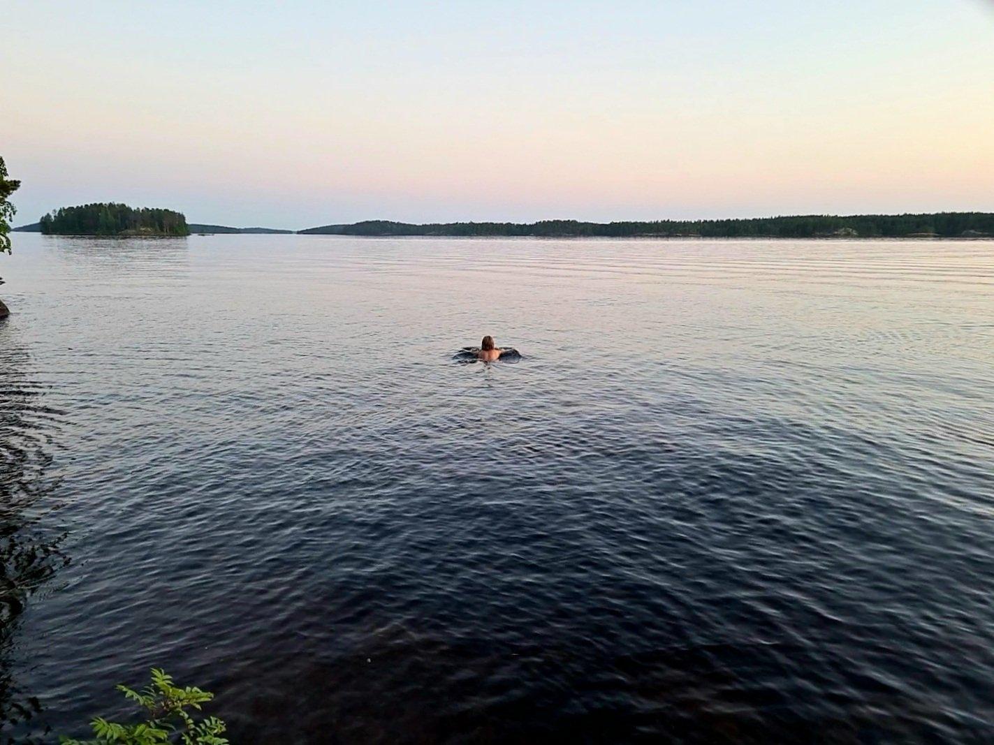 uimari saimaalla