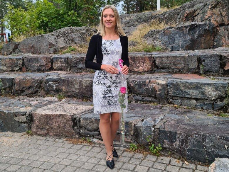 suomalainen vintage mekko