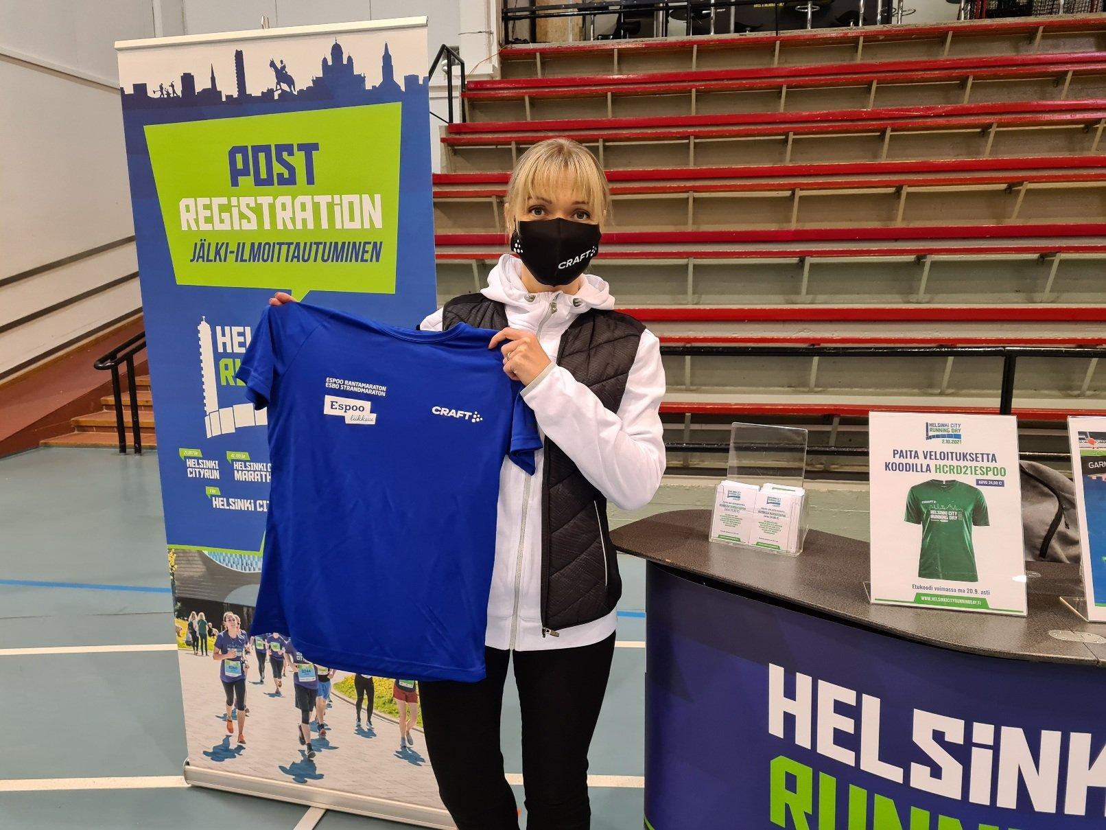helsinki city running day ambassador
