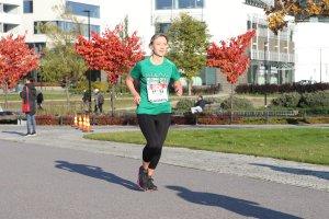 juoksija helsinki city marathonilla