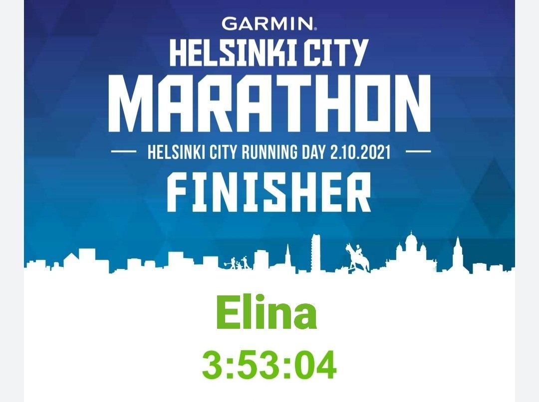 viidennen maratonin aika